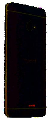 HTC One Seitenansicht